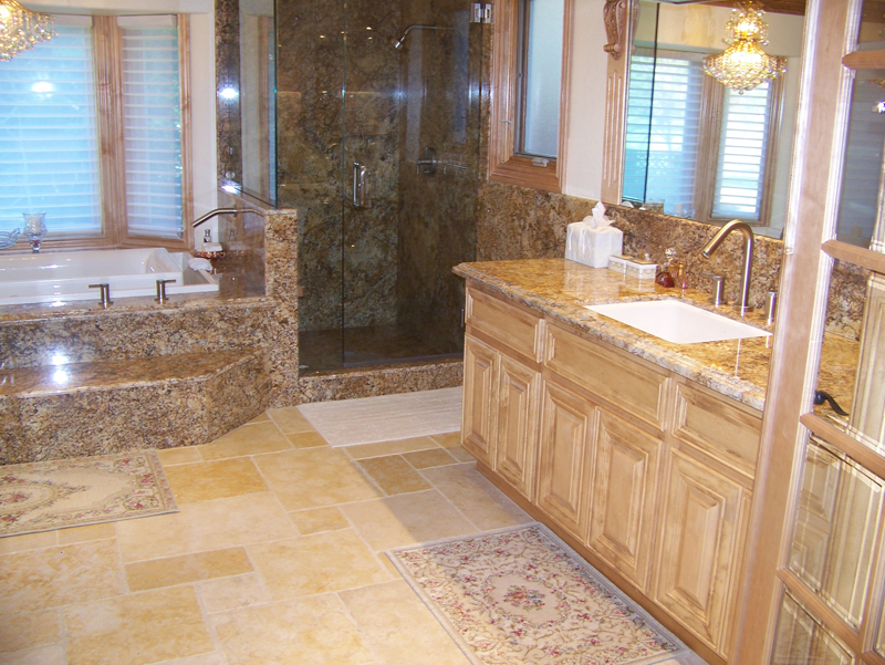 RC Tile and Marble Custom Bathrooms